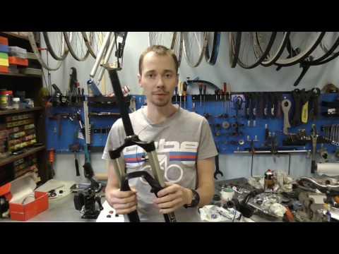 Обзор велосипедной вилки RST First air