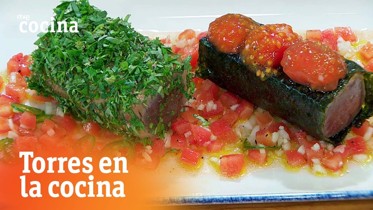 Tataki de at n torres en la cocina rtve cocina youtube for Torres en la cocina youtube