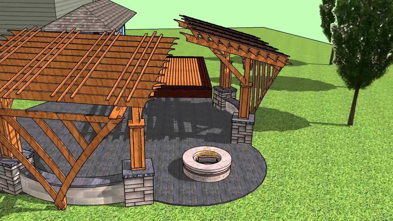 Structure Decks And Pergolas Llc Youtube