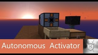 Minecraft Tutorial: Autonomous Activator (with an example - sieve) [ENG]