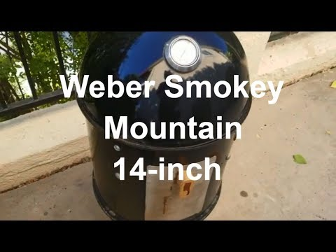 Weber Smokey Mountain 14 Smoker Pit Grill How-To by Grand Champion Harry Soo SlapYoDaddyBBQ.com