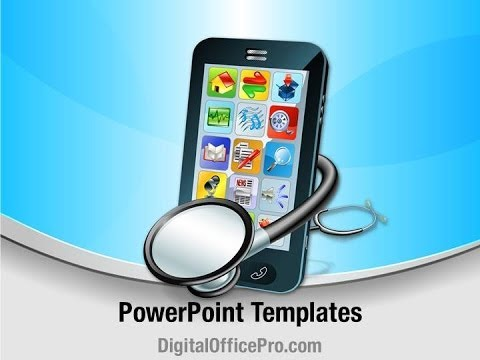 Mobile medical apps powerpoint template backgrounds mobile medical apps powerpoint template backgrounds digitalofficepro 00247 toneelgroepblik