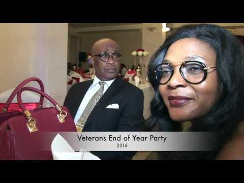Veterans united football association end of year party paris 2016