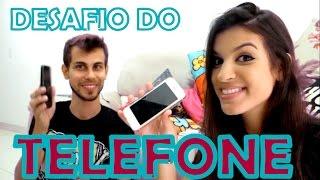 DESAFIO DO TELEFONE   Letícia Cecato & Leo Fávaro 