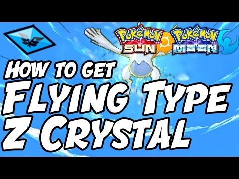 How to Get Flying Type Z Crystal Location – Pokémon Sun and Moon Flyinium Z Location