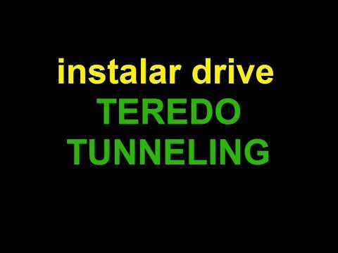 download teredo tunneling pseudo-interface driver vista
