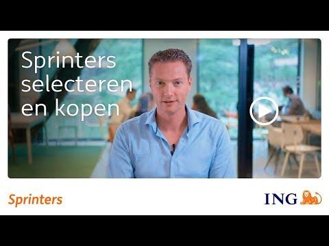 Sprinters selecteren en kopen | ING Sprinters