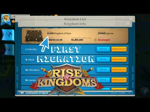 How To Migrate To Another Kingdom - Rise Of Kingdoms