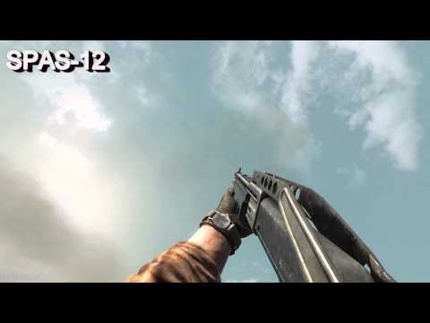 Call Of Duty Black Ops All Weapons In Slow Motion [FULL HD, MAX DETAILS, DX9, COD BO] |