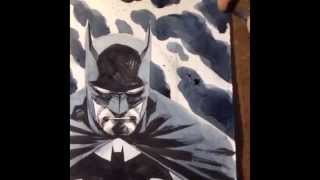 Francis Manapul draws Batman!