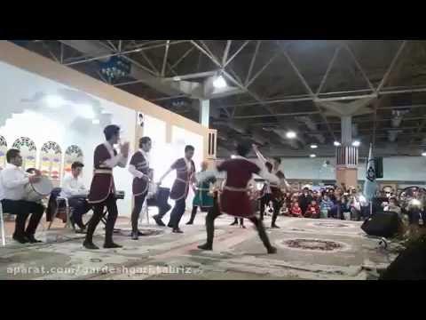 اجرای رقص آذربایجانی گروه ویقار تبریز Azerbaijani Dance of Tabriz Group