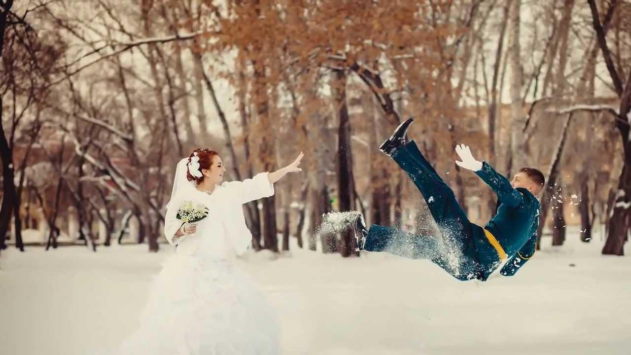 как сделать крутое свадебное фото зимой идут дожди, все