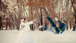 Екатерина Александр свадьба зимой