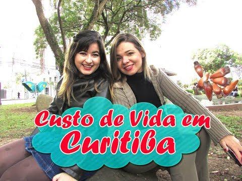 Custo de Vida em Curitiba - Paraná