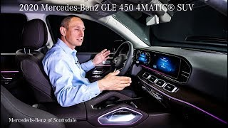 The Brand New 2020 Mercedes-Benz GLE 450 4MATIC® SUV review from Mercedes Benz of Scottsdale
