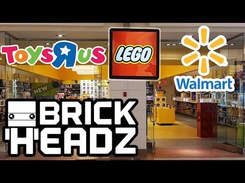 Buying BRICKHEADZ @ LEGO Store, ToysRus, & Walmart