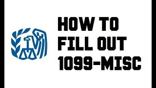 How to fill out 1099-MISC Form Independent Contractor Work Instructions Example Explained