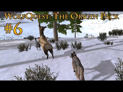 Birth of the Next Generation!  WolfQuest: The Origin Pack 6
