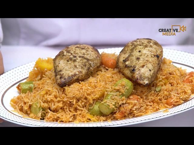 Saudi Chef -  طريقة تحضير الكبسة السعودية وكباب ميرو