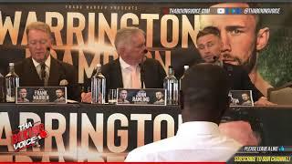 FRAMPTON VS WARRINGTON: FULL LONDON PRESSER