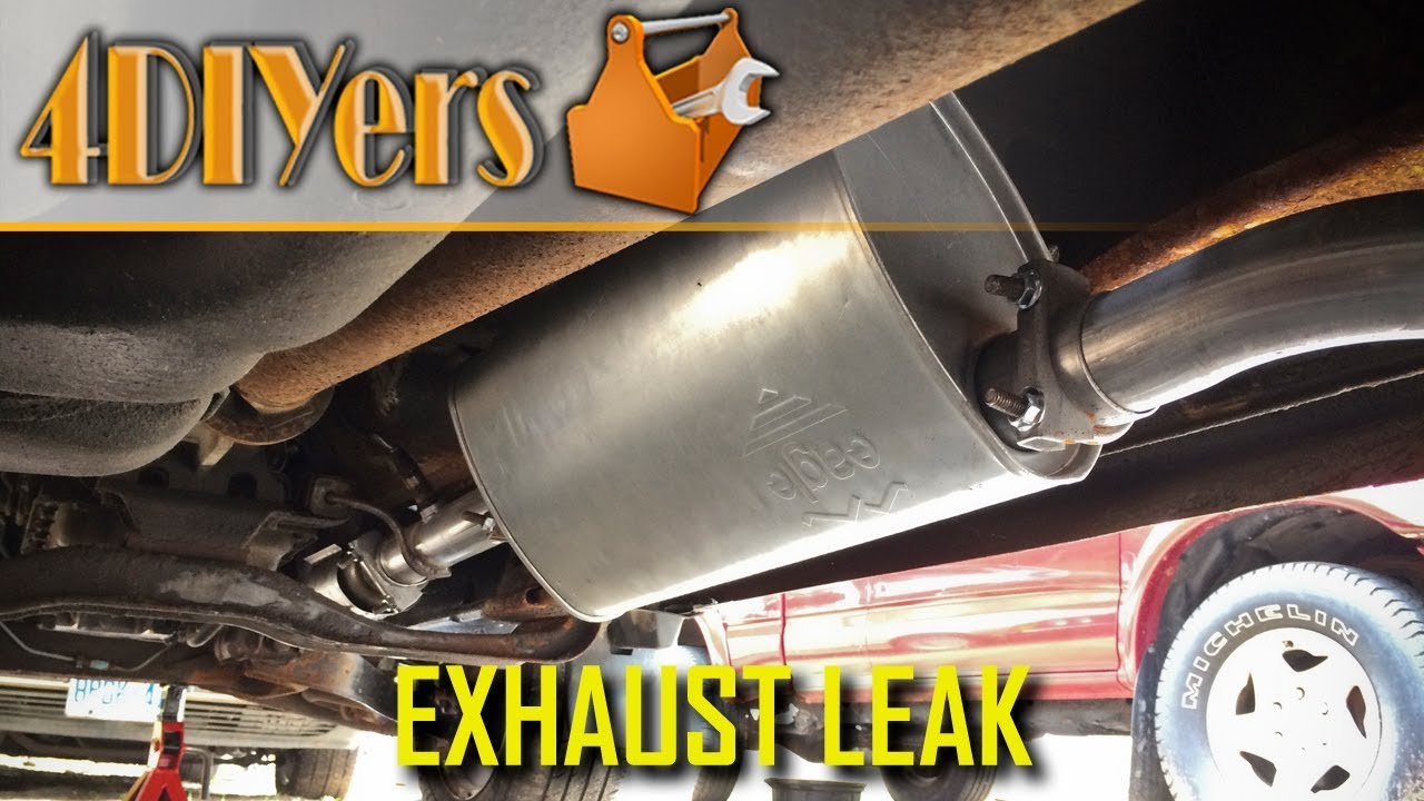 How to Easily Find an Exhaust Leak