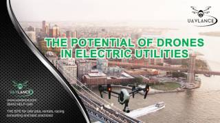 Drone Use in Electric Utilities   Maintaining Continuous Supply