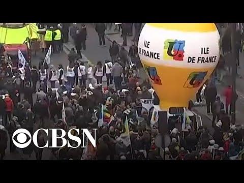 Mass strikes across