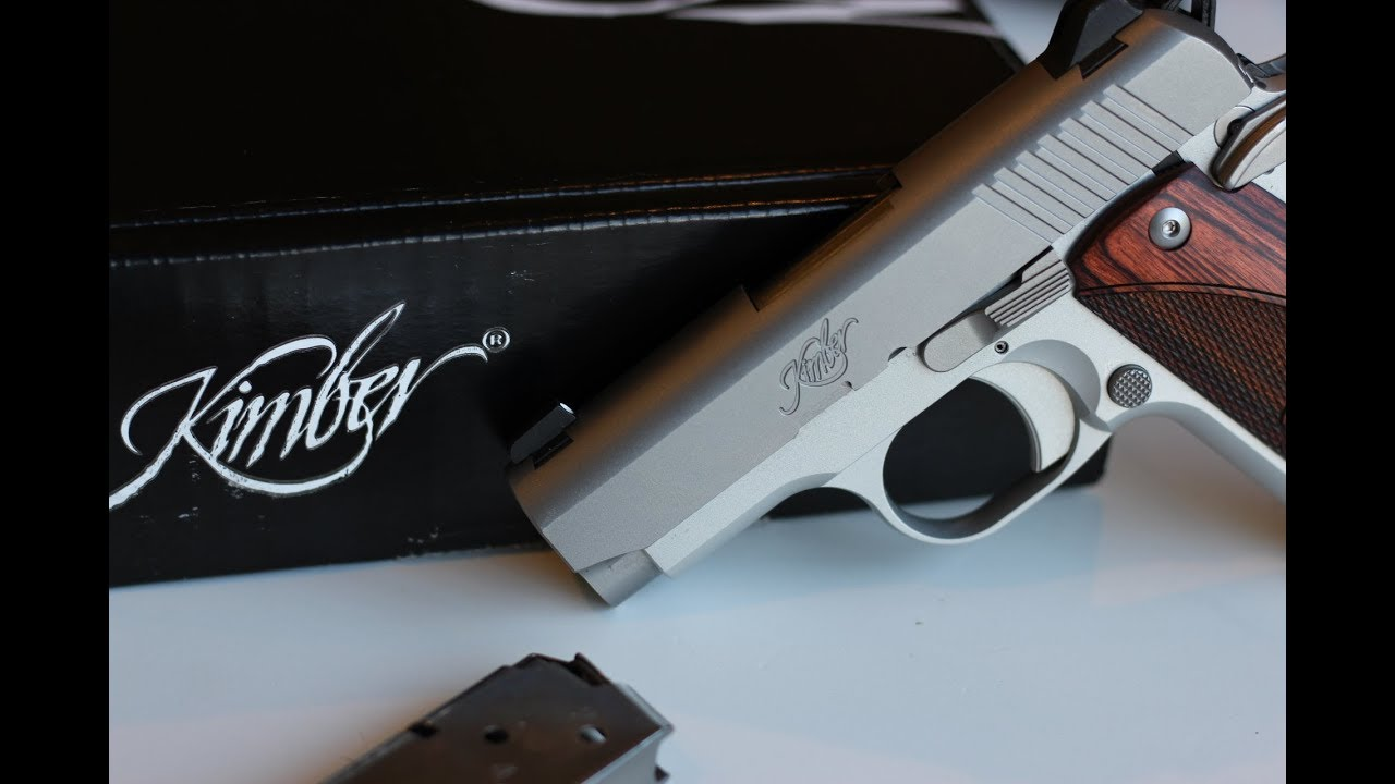 Kimber Micro 9 Unboxing