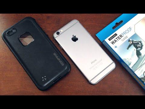 buy popular addad a11b7 $13 Waterproof iPhone Case - Eonfine Waterproof Case Unboxing & Full ...