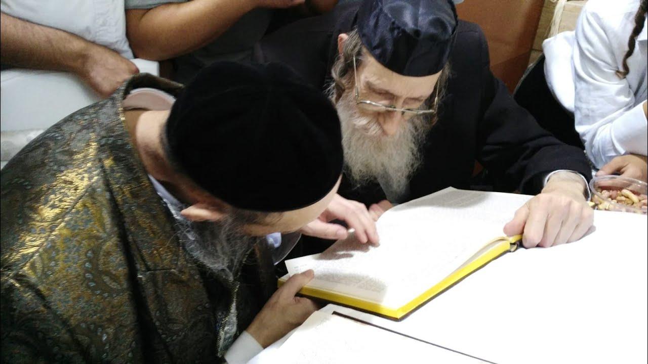 נדיר I הרב דב קוק בלימוד משותף עם המקובל הרב יהודא שיינפלד דקות ארוכות