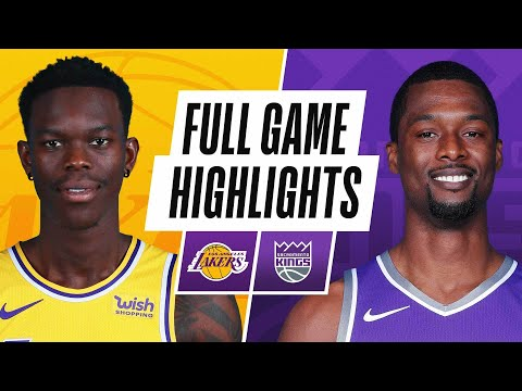 LAKERS at KINGS | FULL GAME HIGHLIGHTS | April 2, 2021