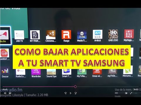 INSTALAR APPS APLICACIONES A LA SMART TV SAMSUNG