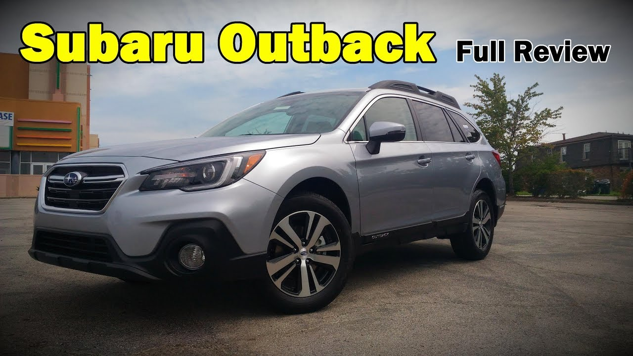 2018 Subaru Outback: Full Review | 2.5i & 3.6R | Touring ...