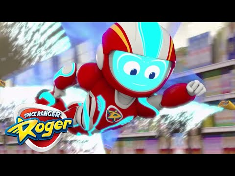 Space Ranger Roger | episodes 10 to 12 compilation | Cartoon