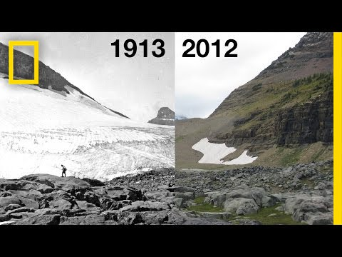 Glacier National Park's glaciers will be gone in our lifetime