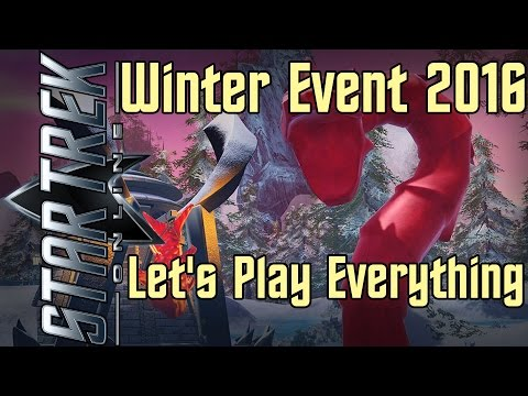 Star Trek Online - Winter Event 2016 - Let's Play Everything