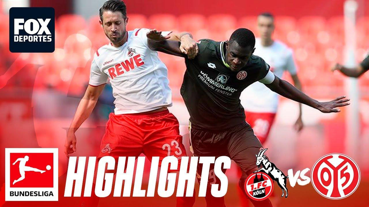FC Koeln 2 - 2 Mainz 05