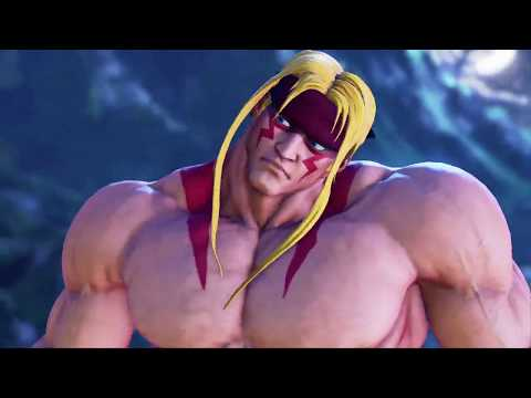 STREET FIGHTER V AE Arcade Mode Alex On The SF3 Path On Hard Difficulty With Gill As The Final Boss