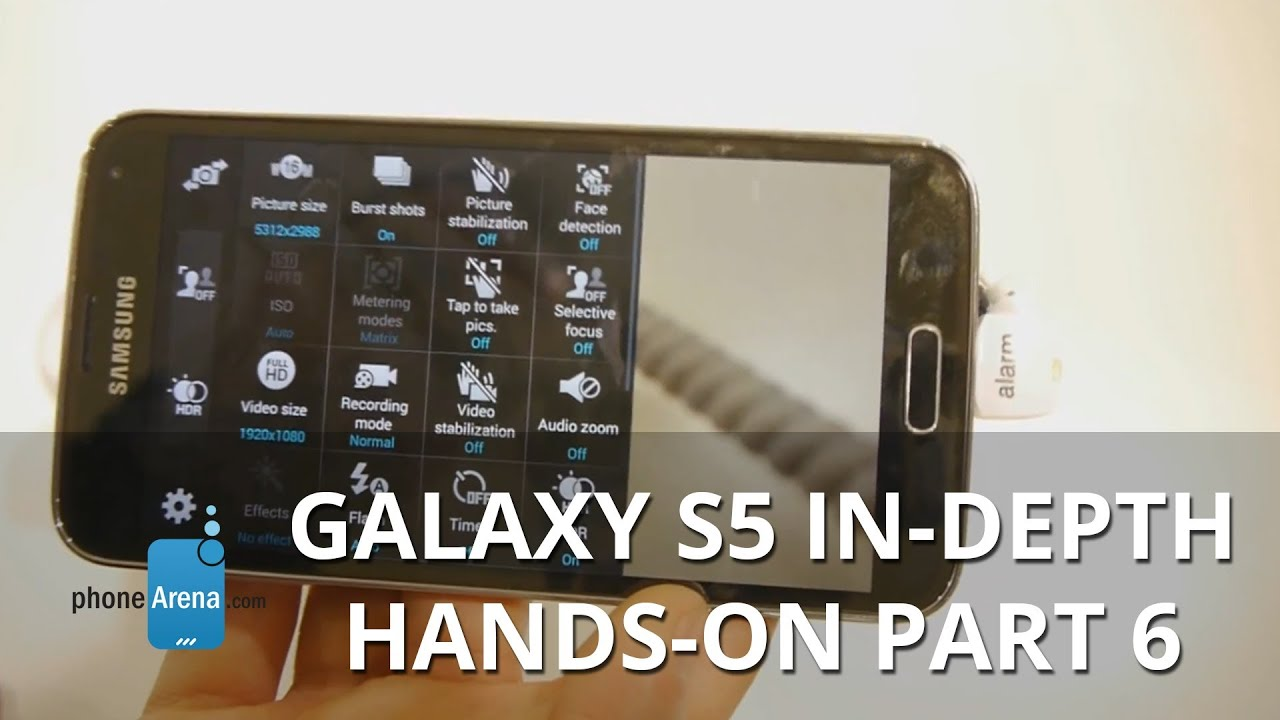 Samsung Galaxy S5 in-depth hands-on part 6: Camera