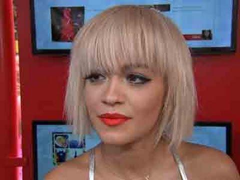 Rita Ora Talks Album; Walks at Calvin Harris