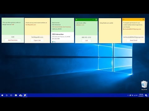 How To Backup And Restore Sticky Notes In Windows 10 (2018)