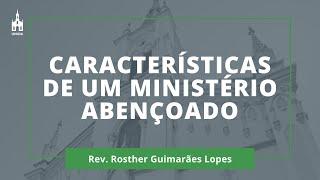 Rev. Rosther Guimarães Lopes - Culto Matutino - 01/11/2020