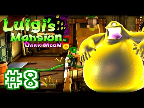 Luigi's Mansion Dark Moon - 3DS - (1080p) Part 8 - B-1 A Job For a Plumber