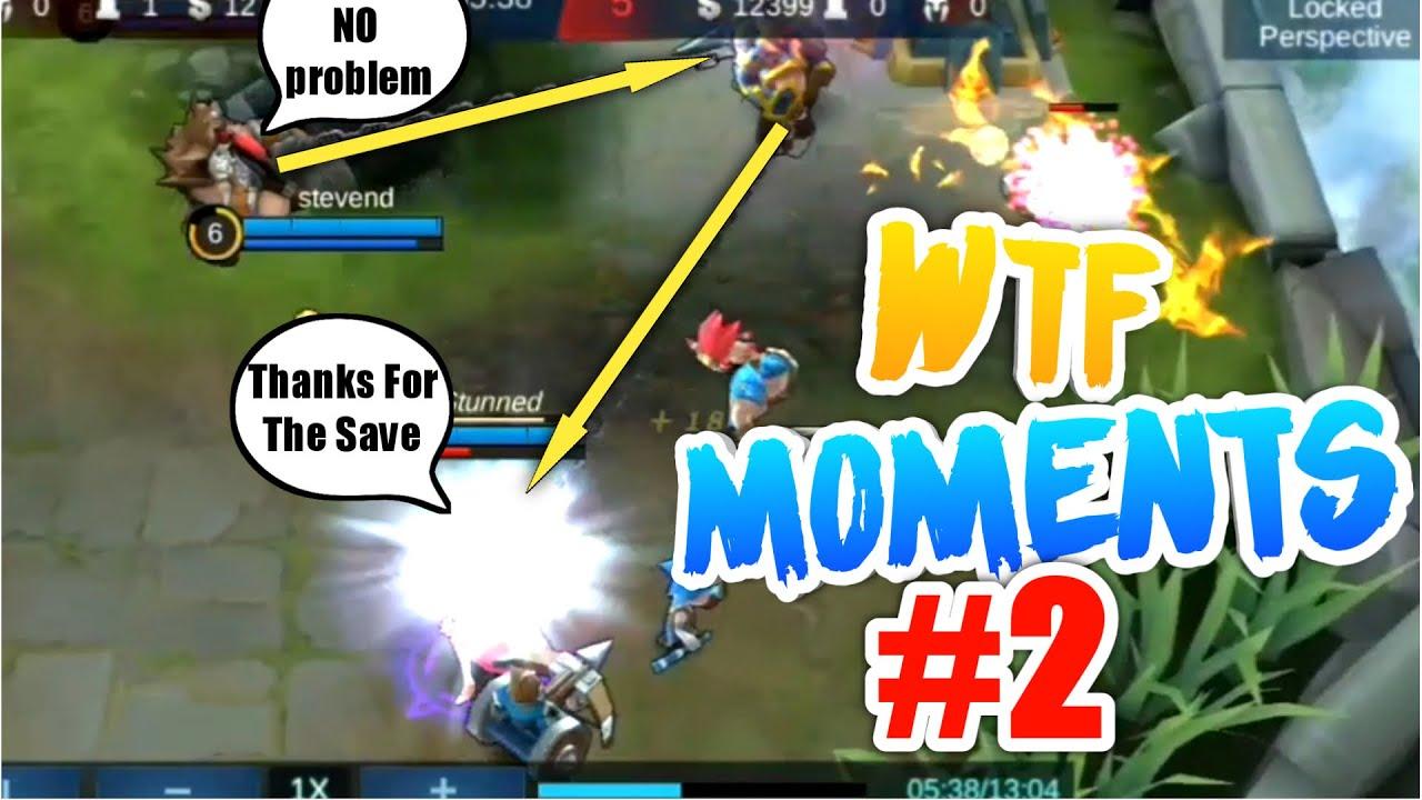 wtf! moments #2   mobile legends funny moments   mobile legends bang bang