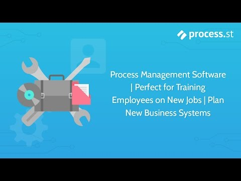 Process Management Software | Perfect for Training Employees on New Jobs | Plan New Business Systems