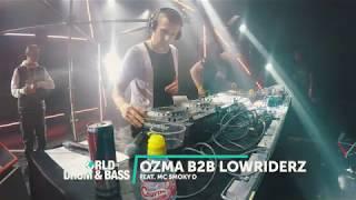 Audio: https://soundcloud.com/ozma/ozma-b2b-lowriderz-feat-smoky-d-wodb-30112019 Ozma: https://soundcloud.com/ozma ...