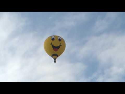 Ужас. Воздушный шар в небе Уфы 16.11.2018