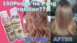 ICARE BRAZILIAN BLOWOUT BY G-SKIN REVIEW | HOW TO BRAZILIAN BLOWOUT | Chading