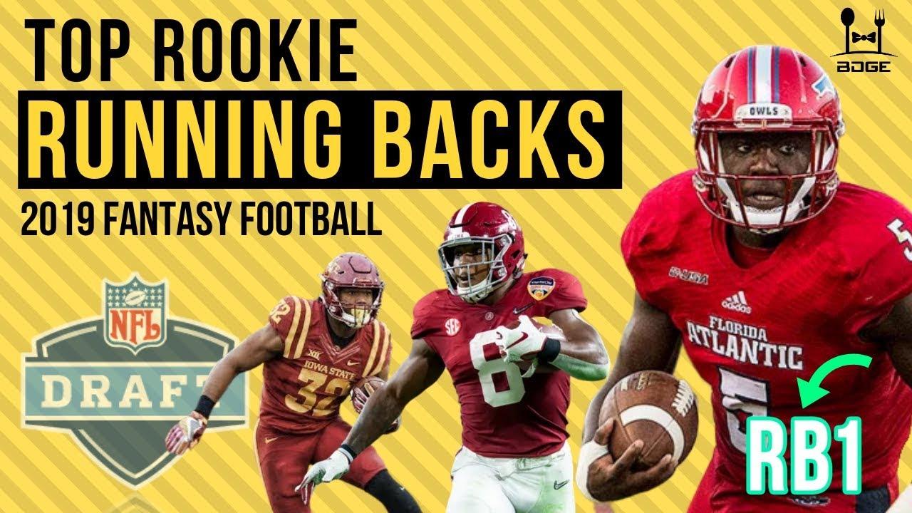 Best Rookie Fantasy Running Backs 2019 Top Rookie Running Backs for 2019 Fantasy Football   YouTube