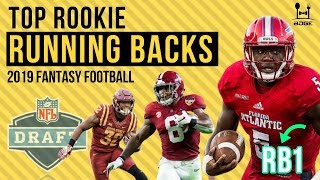 Top Rookie Running Backs for 2019 Fantasy Football